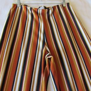 Urban Outfitters Large Stripe Pants L Delany Strip